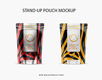 Stand-Up Pouch Mockup Freebie