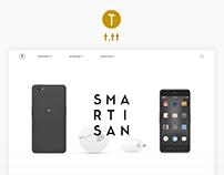 Smartisan Website Redesign
