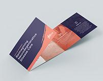 Non-Profit Folded Brochure