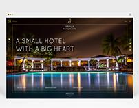 Web design\hotel concept