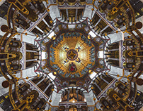 Aachen Cathedral by architect Odo of Metz, Germany
