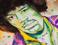 Watercolor Jimi