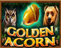 GOLDEN ACORN - slot game for Casino Technology Inc.
