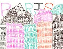 France Portfolio 3 Paris Sketchbook