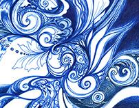 Abstract Meditative Designs