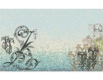Typoakwarium, animacja typograficzna, 2017