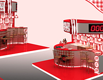 Coca Cola lounge