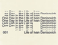 001 Day in the Life of Ivan Denisovich [Book cover]
