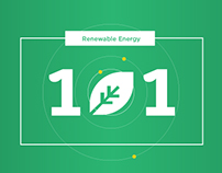 Renewable Energy 101 Infographic