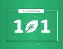 Renewable Energy 101 Infographic