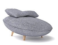 Mon Cochon chaise longue | Furniture design