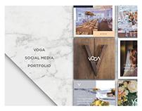 VOGA EVENTOS - Social Media Portfolio