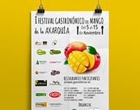 Poster for 1st Mango Festival of La Axarquía