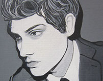 Gerard Way Painting 2014