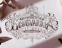 Lettering Echevarria
