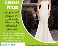 Tina Valerdi Wedding Dresses Prices |8479838616| dantel