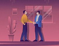 Business Man Illustration 03