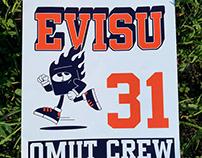 Evisu birthday postcard