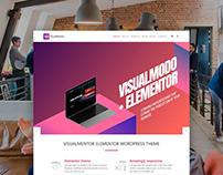 VisualMentor - Elementor WordPress Theme