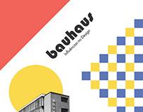 Infográfico Bauhaus - Influências no Design