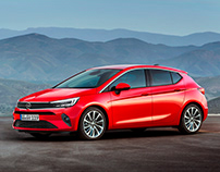 Opel Astra Re-design 2021