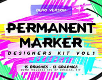 FREE - PERMANENT MARKER DESIGNERS KIT DEMO