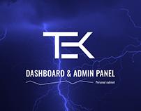 TEK - Responsive Admin Template & Dashboard