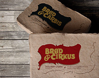 Brød & Cirkus: Logo and businesscard