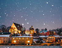 Wintertime Magic of Porvoo for VisitPorvoo