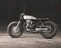 Cafe Racer //Yamaha xs650 // FULL CGI