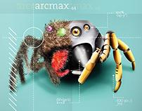"Poster ""ARCMAX"" illustration digital"