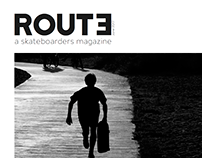Route, a skateboarders magazine
