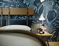 Mac Bed Hotel Room