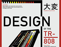 TR-808 Poster