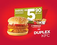 Menu Valor KFC