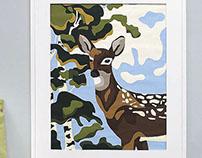 Decoart - Deer Paint By Number