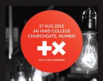 TEDxJaiHindCollege 2015 Branding