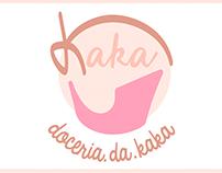 Doceria.da.Kaka | Logotipo e Cartão de visita