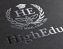 HighEdu Logo Identity