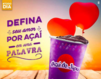 SOCIAL MEDIA - AÇAÍ DO JAPA