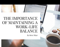 The Importance of Maintaining a Work-Life Balance