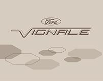 LAYOUT: Visitenkarten Ford Vignale-Modellreihe