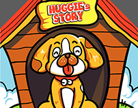 Rescue Home Flyer - Huggie's story