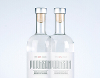 Partisan – The extra strength vodka packaging