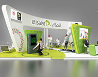 Etisalat Stand Design_special olympics abu dhabi 2018