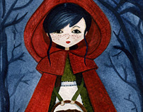 Little red riding hood or someone with that style!