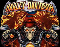 Harley Davidson Motorcycle T-Shirt Designs