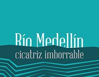 Desarrollo gráfico para exposición - Río Medellín