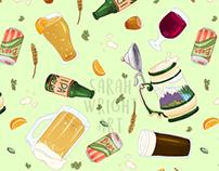 Cute Craft Beer Pattern