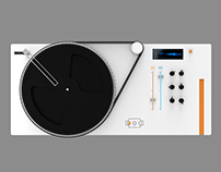 SKRTO II (CD/Record player w/ sampling features)